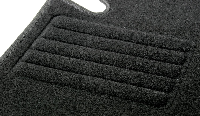 Fußmatten Set für Fiat Grande Punto 199 05-09 Matten Autoteppiche Passform