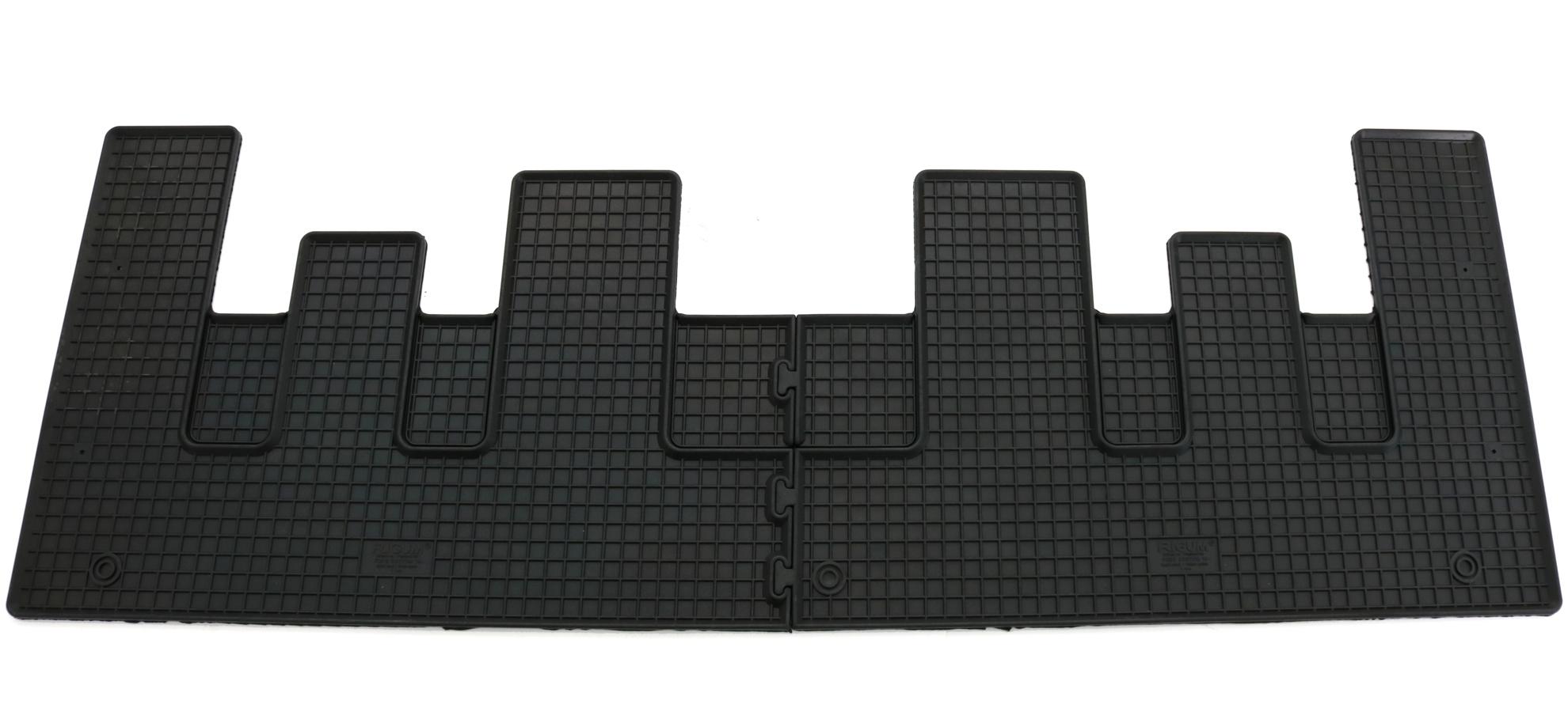 Gummifußmatten für Ford Transit Custom ab 18 Gesamtauslage Matten Fußmatten
