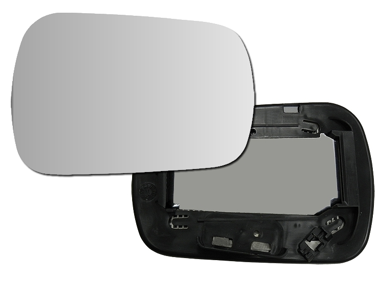 FUSION Spiegel Glas Konvex Außenspiegel Spiegelglas rechts für Ford Fiesta
