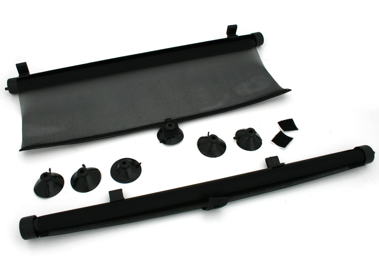 2x pkw kfz sonnenrollo 45x50cm sonnenschutz. Black Bedroom Furniture Sets. Home Design Ideas