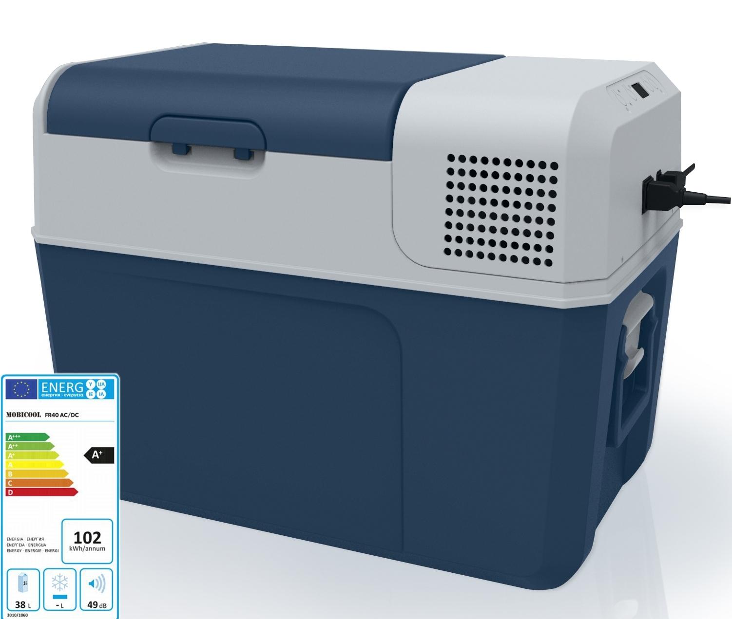 WAECO Mobicool FR 40 Kompressorkühlbox FR40 Kühlbox 12V 24V 230V PKW ...