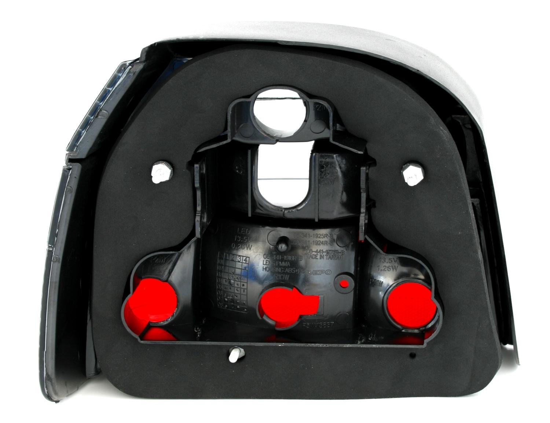 r ckleuchten set f r vw golf 3 iii limo alle in schwarz. Black Bedroom Furniture Sets. Home Design Ideas
