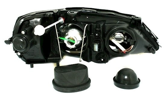 xenon headlight set for opel astra g all left right headlights ebay. Black Bedroom Furniture Sets. Home Design Ideas