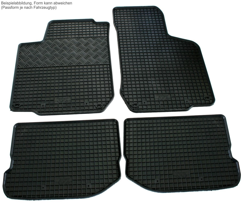 gummi fu matten set f r audi a3 8p 8pa gummimatten gummifu matten matten ebay. Black Bedroom Furniture Sets. Home Design Ideas