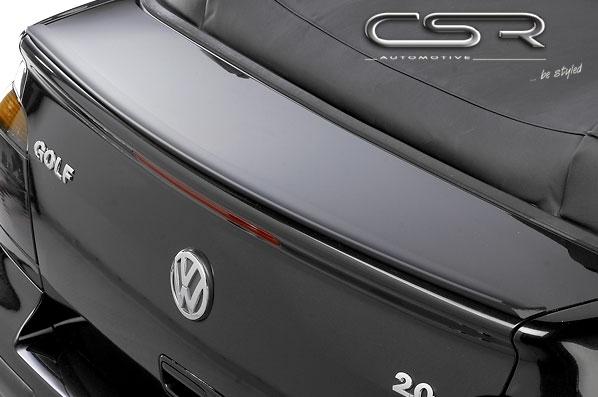 hecklippe f r vw golf 3 cabrio spoilerlippe heckspoiler. Black Bedroom Furniture Sets. Home Design Ideas