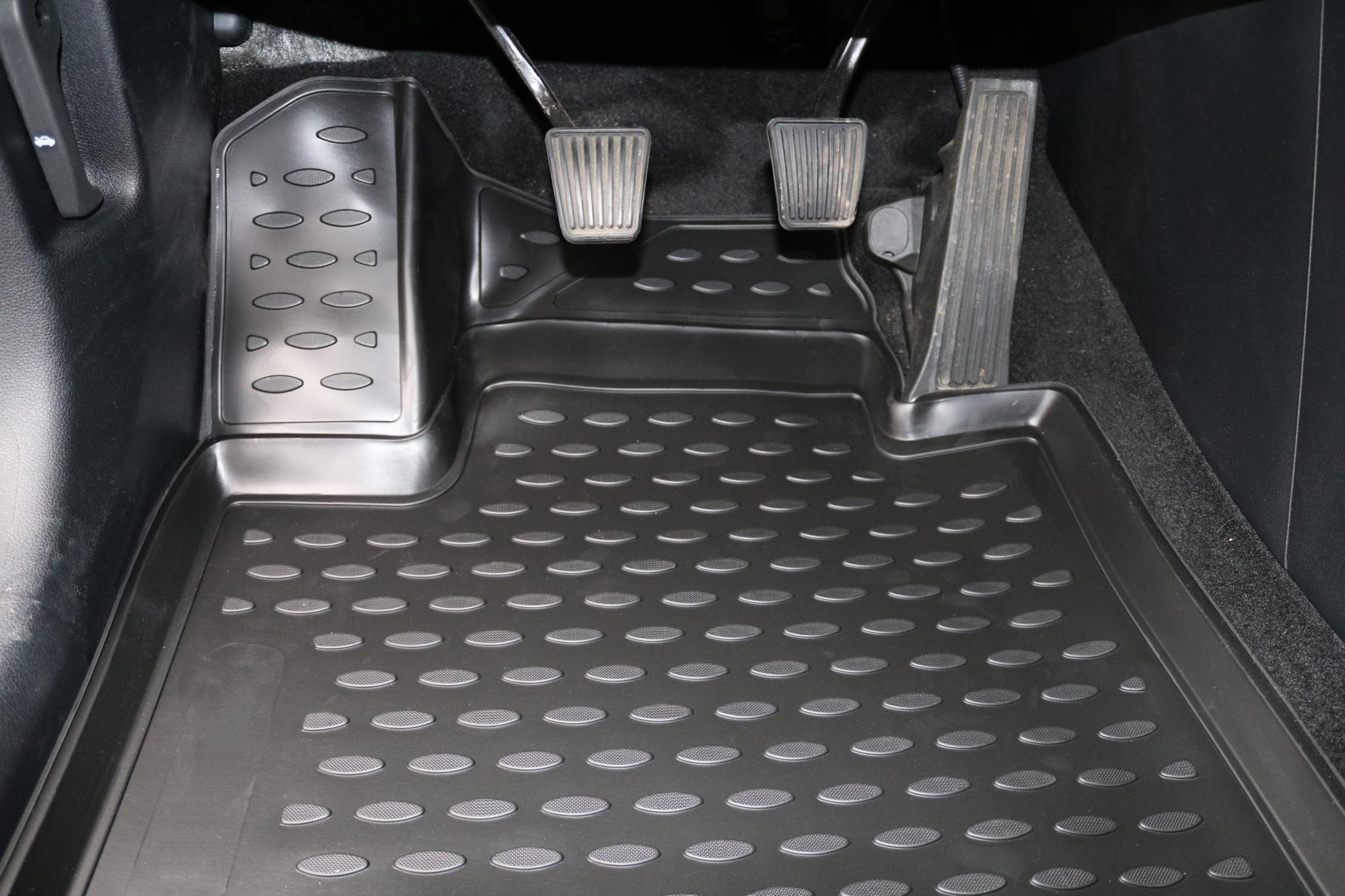 Gummimatten-VW-Tiguan-5N-ab-2007-Gummi-Fussmatten-5-teilig-3D-Schalen-Qualitaet