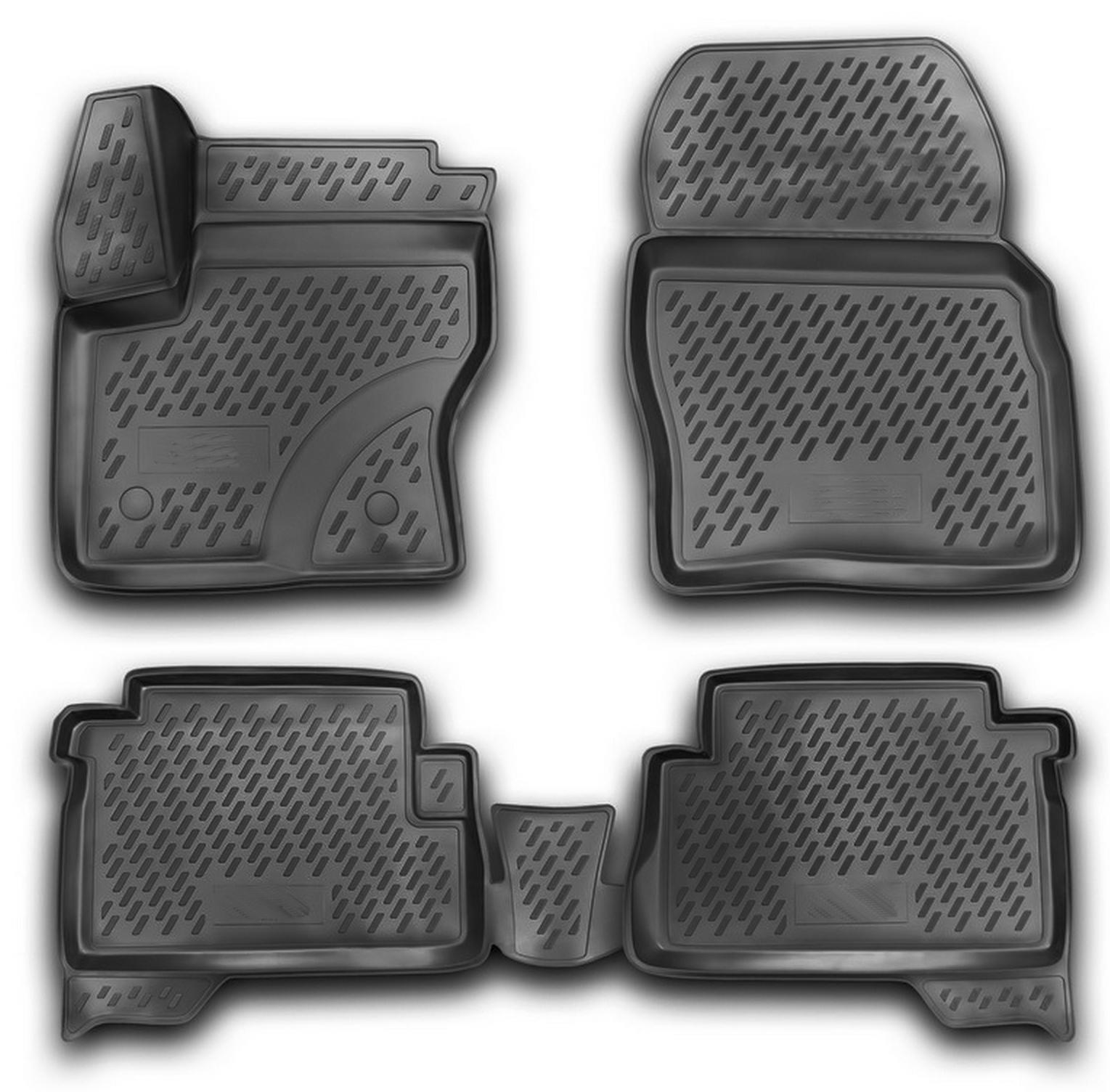 gummimatten ford kuga mk2 ab 2013 gummi fu matten 5. Black Bedroom Furniture Sets. Home Design Ideas