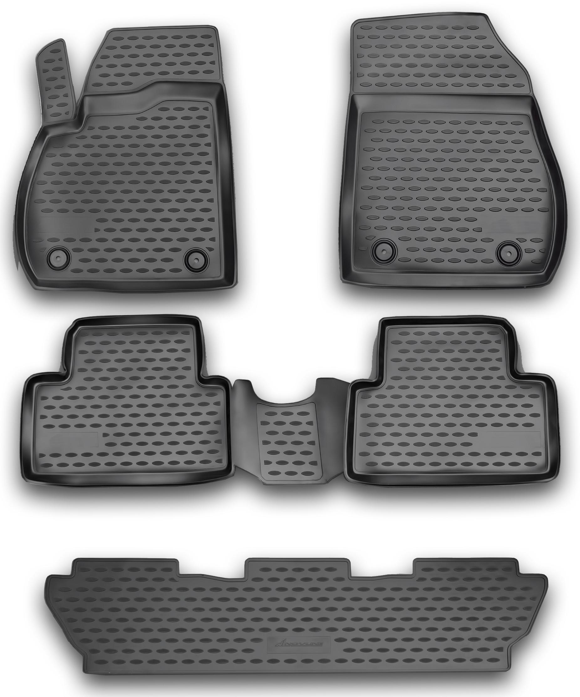 Opel Insignia 2 Gummimatten Gummi Fußmatten 5-teilig 3D Schalen Passform