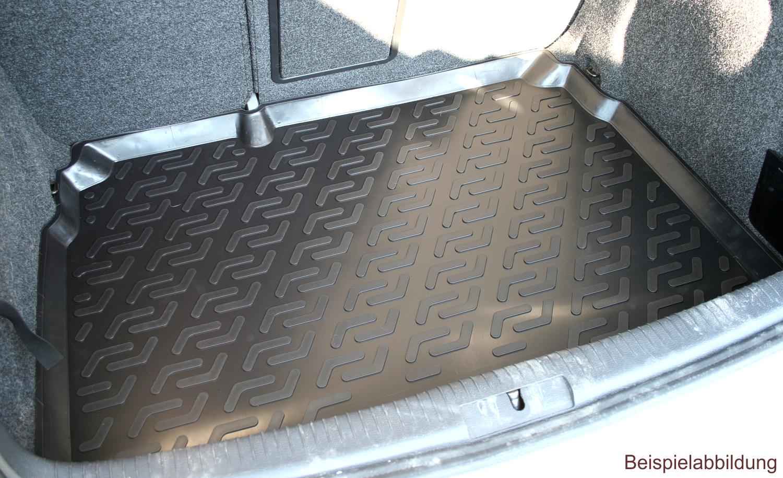 Antirutsch Kofferraumwanne für Renault Clio IV ab 11//2012 Kofferraummatte