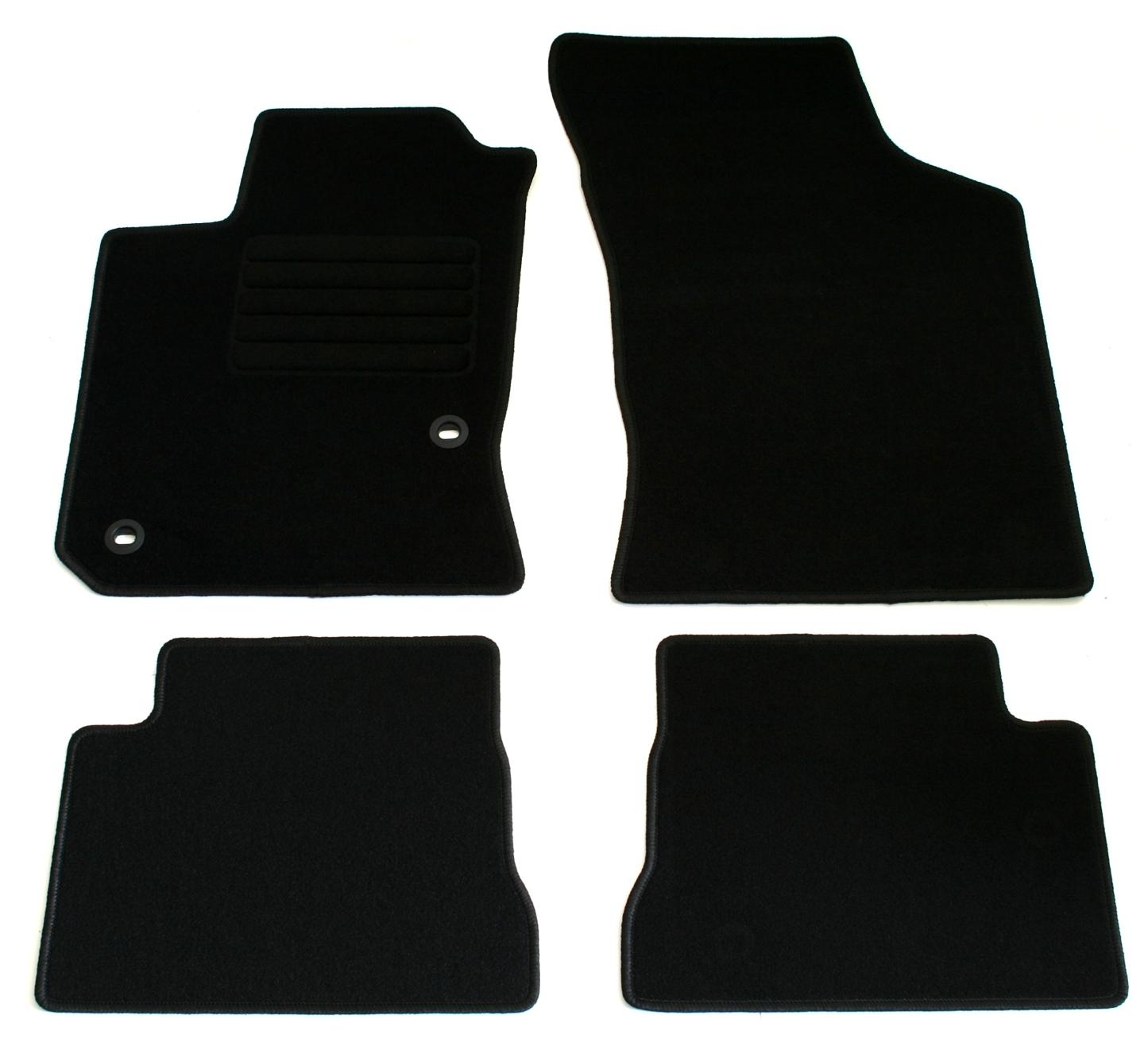 Automatten Autoteppiche Fußmatten bordeaux Hyundai Getz 2002 bis 2009 3 /& 5 trg
