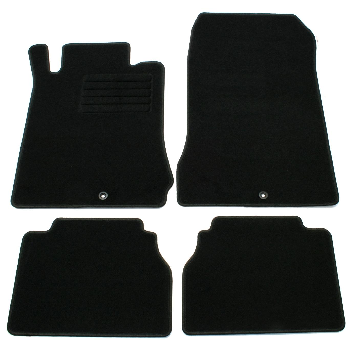 Kfz-Matten Gummi Fußmatten für Mercedes E-Klasse W210 S210 Bj.ab 95 bis 03