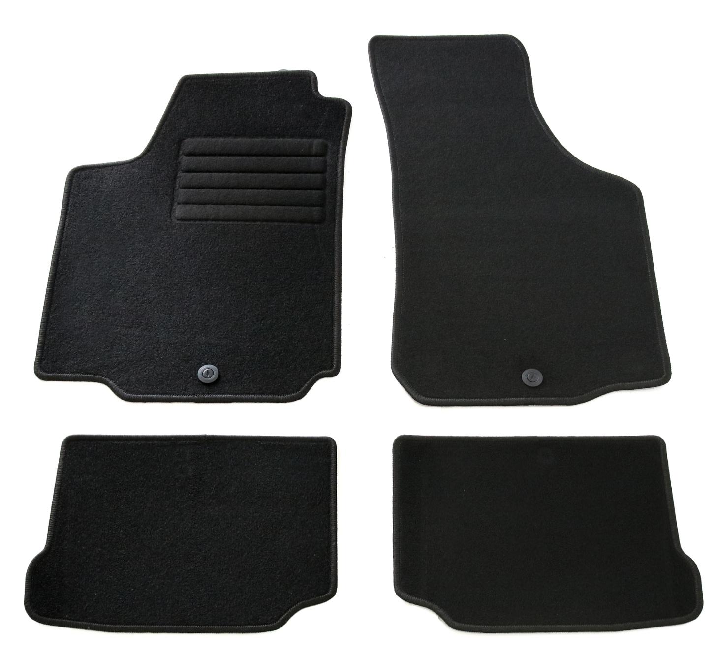 Fußmatten grau Seat Alhambra Typ 2 ab 2010 Automatten Autoteppiche