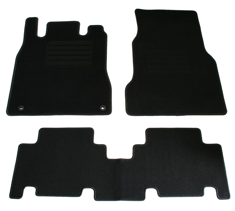 Fußmatten Set für Mercedes W168 A-Klasse 1997-2001 Matten Autoteppiche Passform