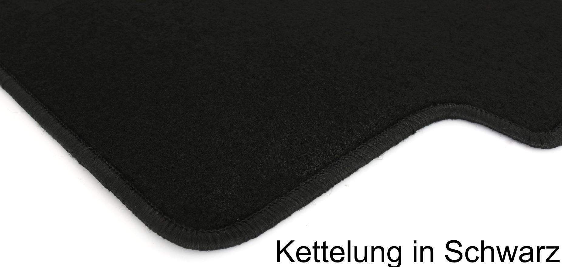 Fußmatten Set für BMW E90 E91 3er Limo Touring Matten Autoteppiche Passform