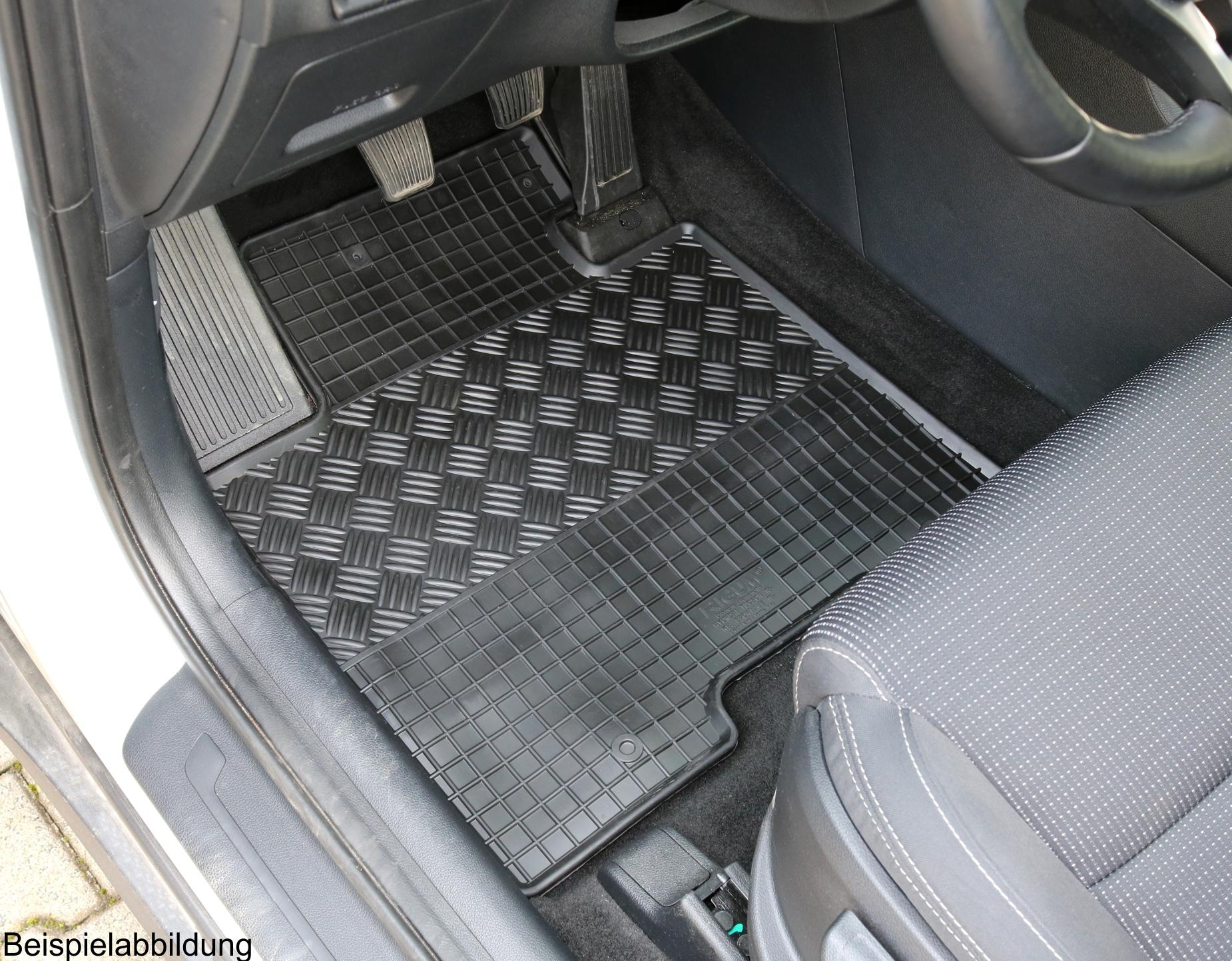 Gummimatten Gummifußmatten für Mercedes Sprinter und VW Crafter ab 2006 bis 2016