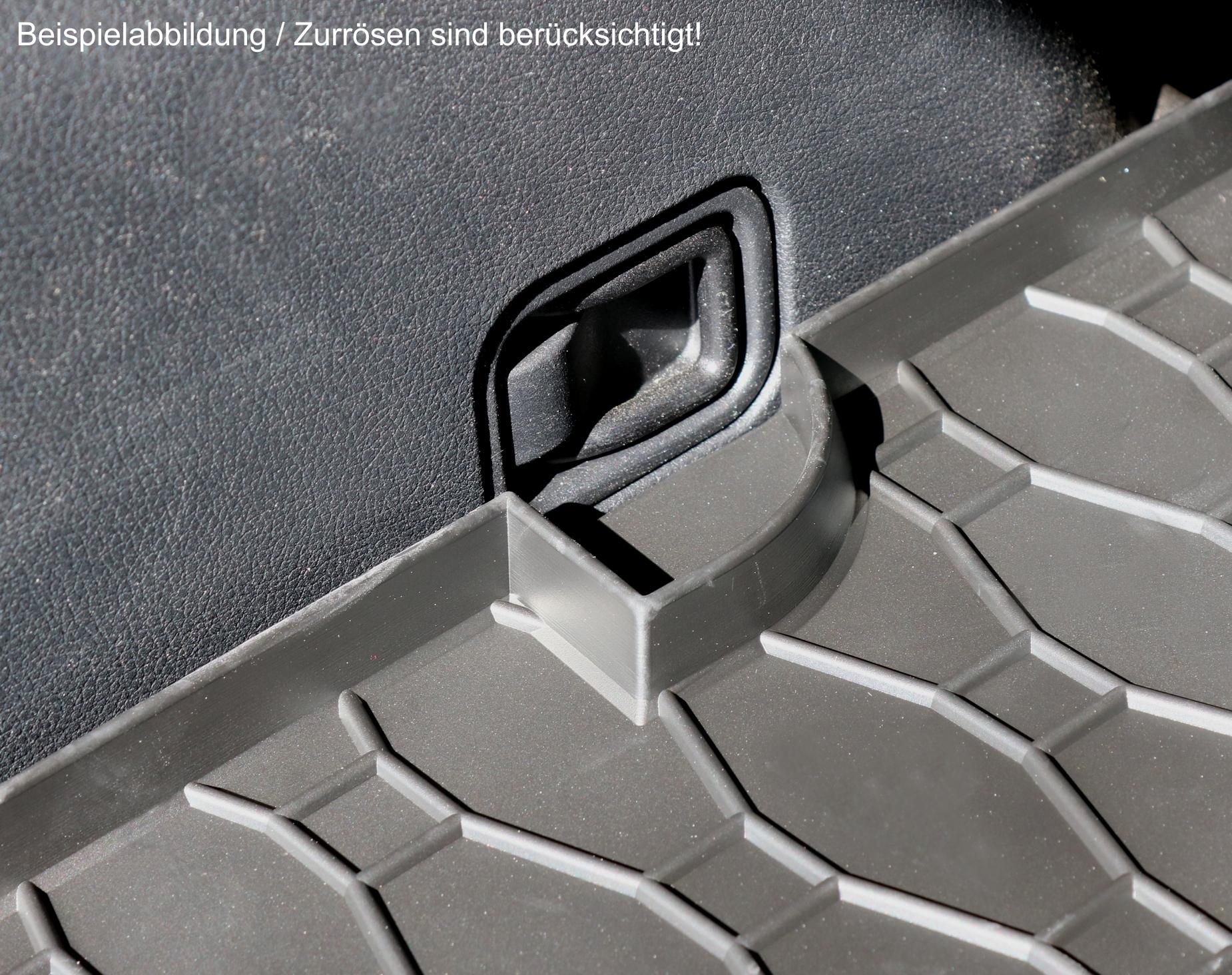 KOFFERRAUMWANNE FR VW T-ROC AB 2017 LADERAUMWANNE GUMMIWANNE Auto ...