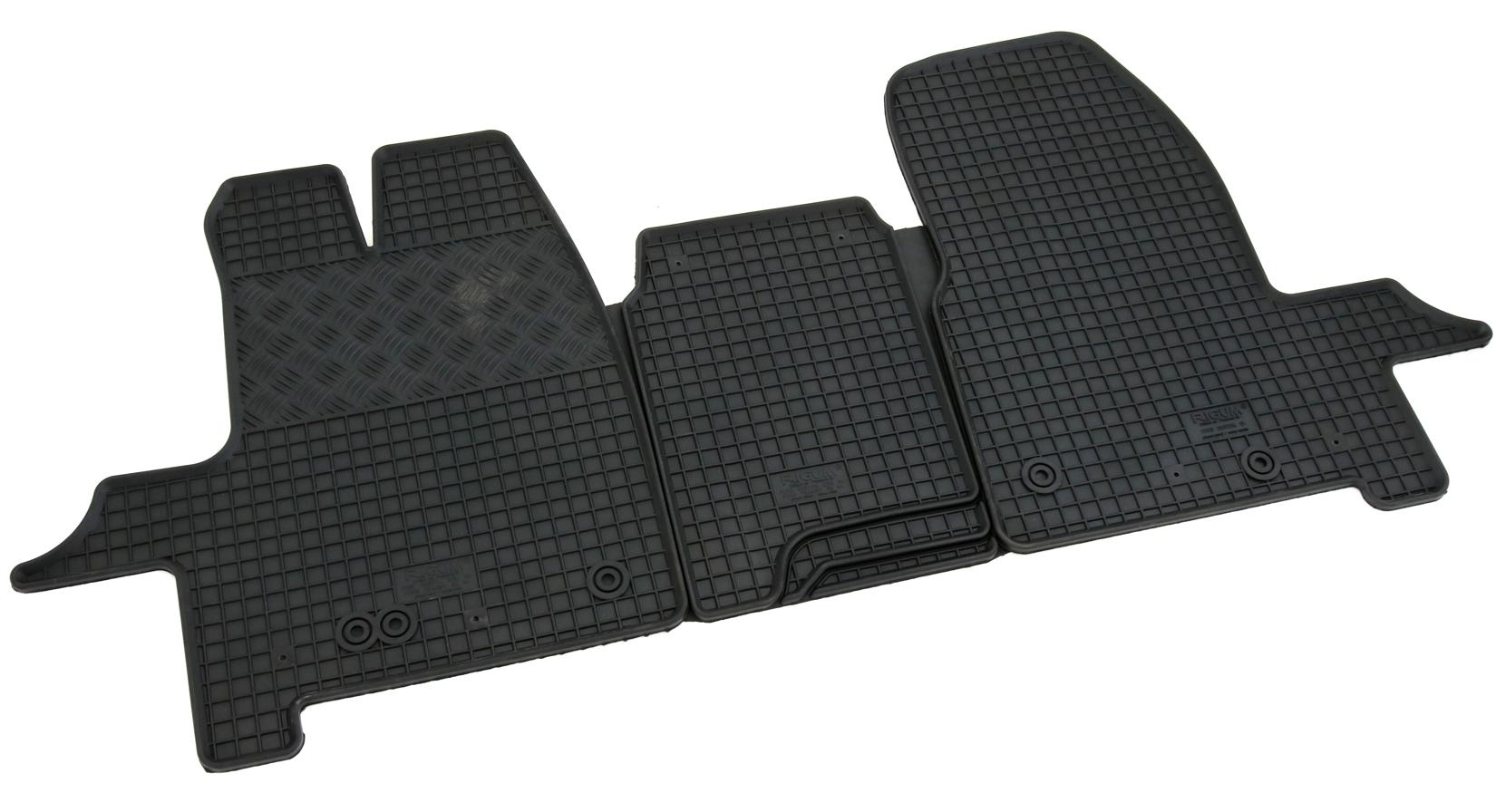 TOP Qualität FORD CONNECT 2-Reihen ab 2013 Gummifußmatten passgenau Fußmatten