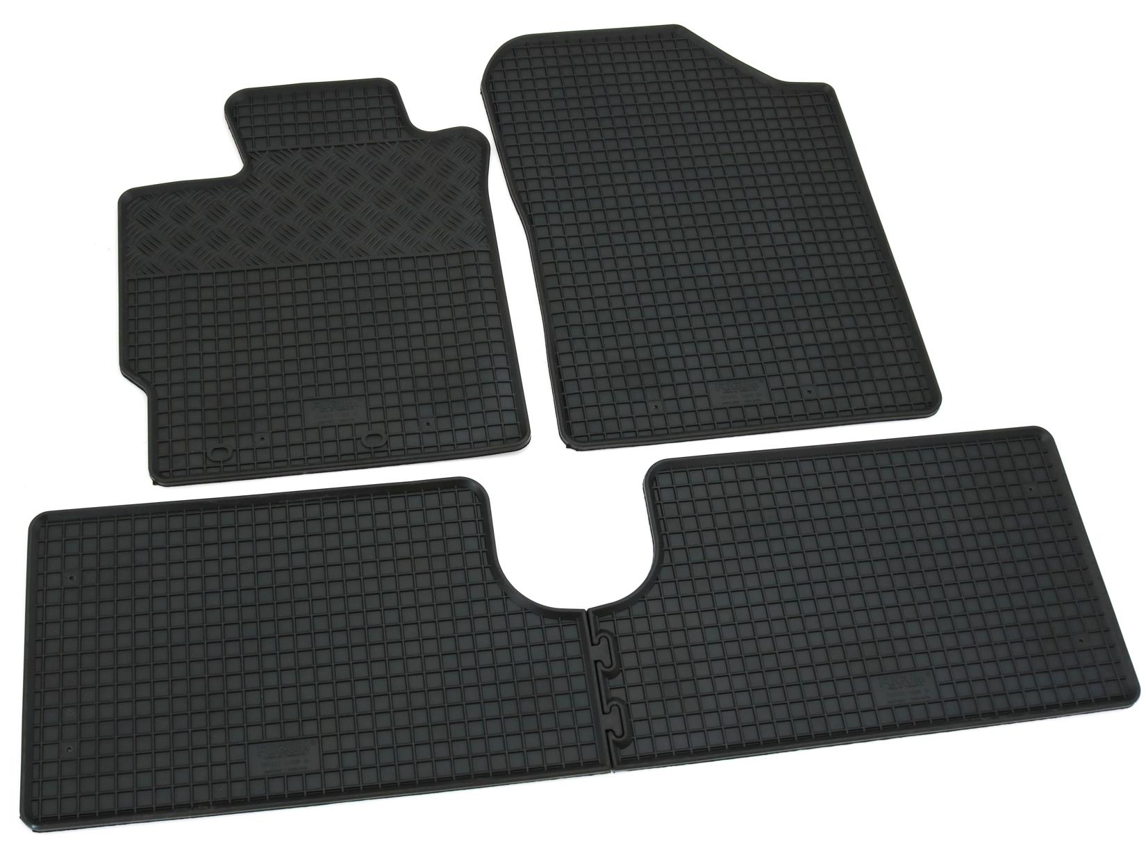 TOYOTA YARIS III HYBRID ab 2014 Kofferraumwanne /& Gummi-Fußmatten