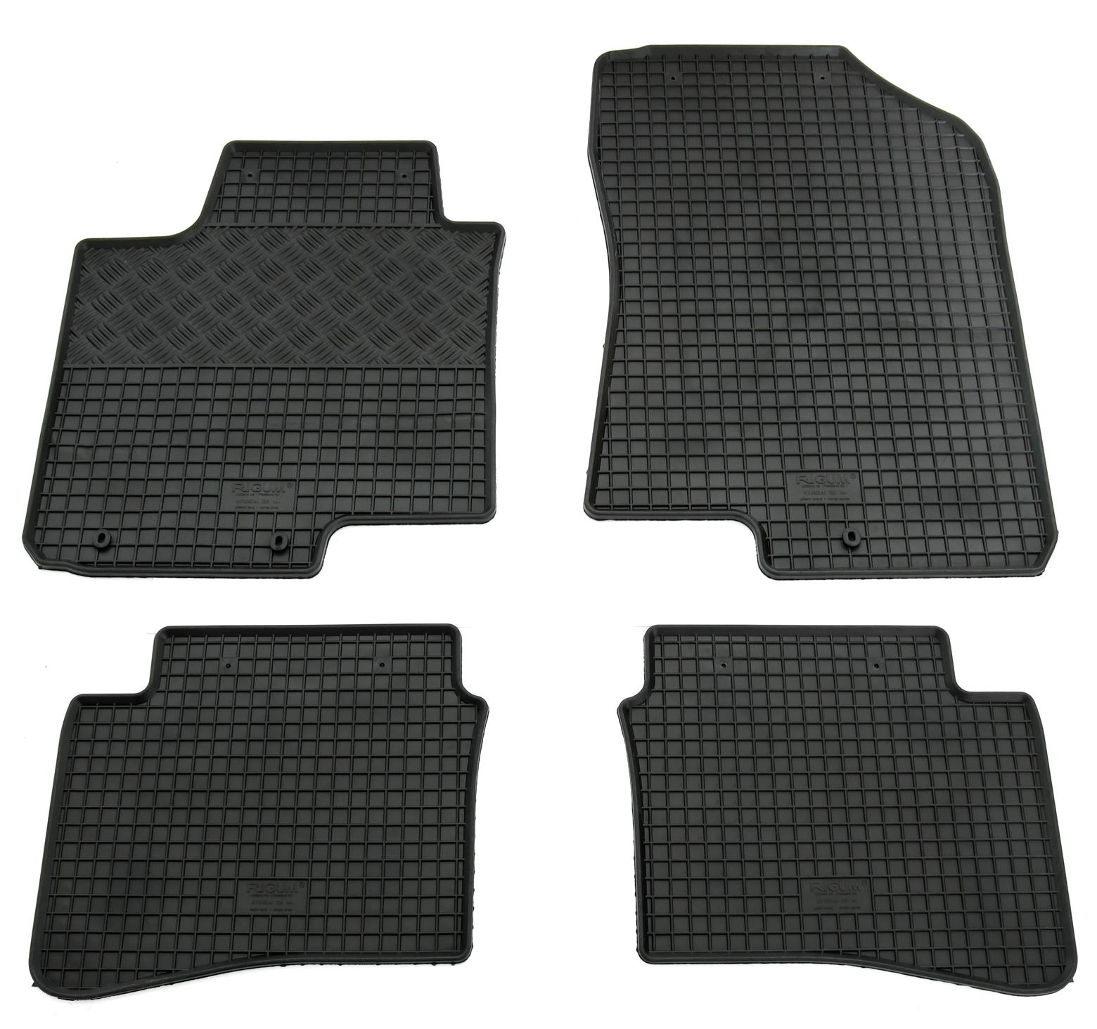 Mattenprofis Velours Fußmatten Edition rot für Hyundai i20 GB ab Bj.12//2014