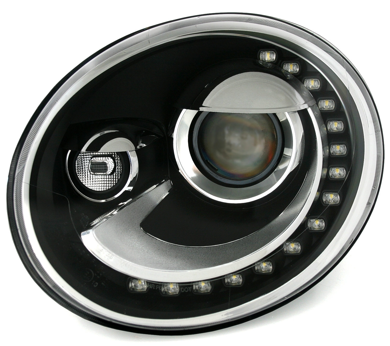 vw beetle 5c 2016 led tagfahrlicht scheinwerfer set. Black Bedroom Furniture Sets. Home Design Ideas