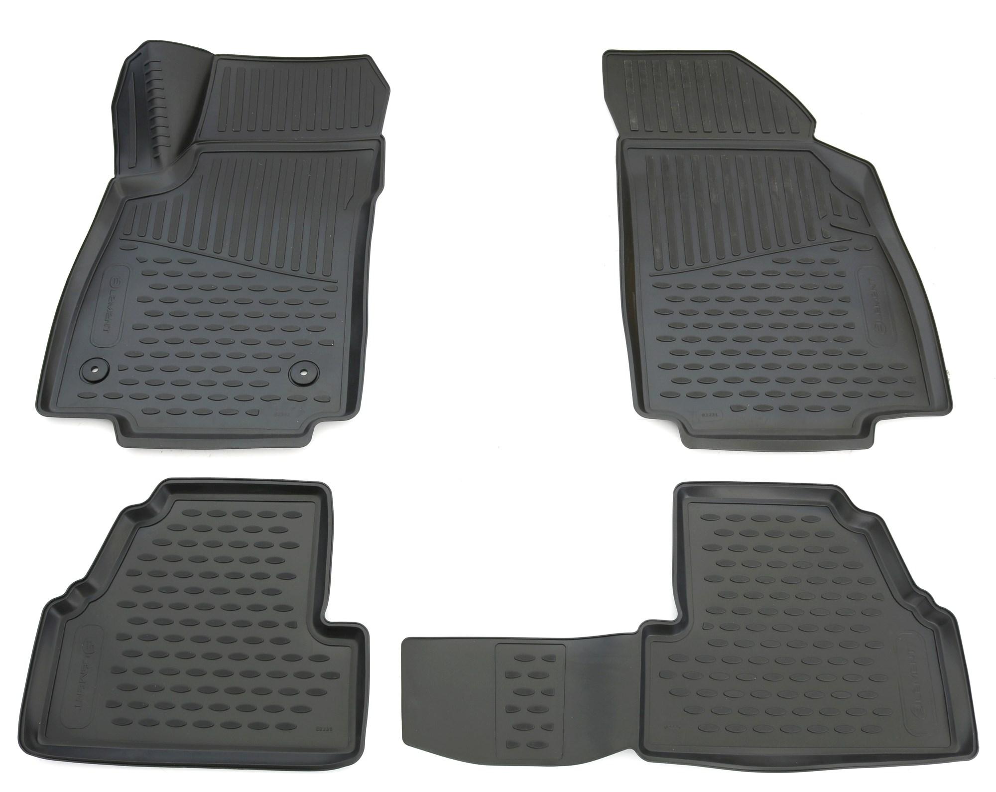 2012 Allwetter Fußmatten für Opel Mokka Mokka X ab Bj